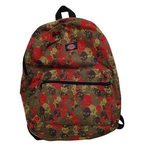 Kids Dickies Skull Camo Backpack